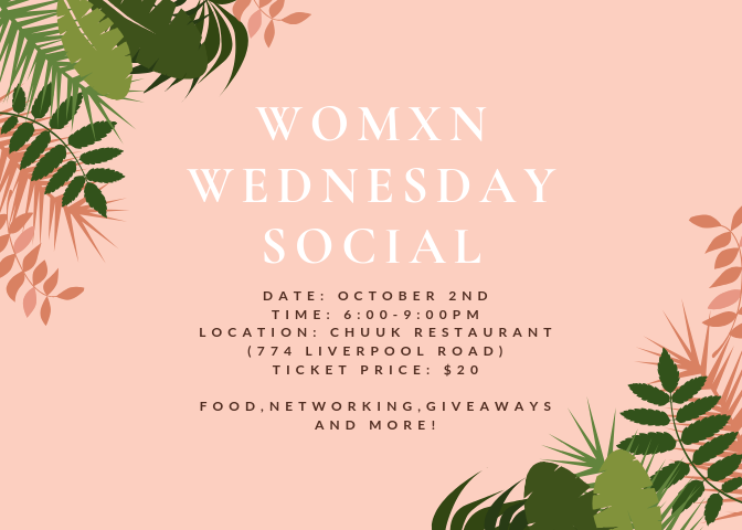 Womxn Wednesday Social Event Details