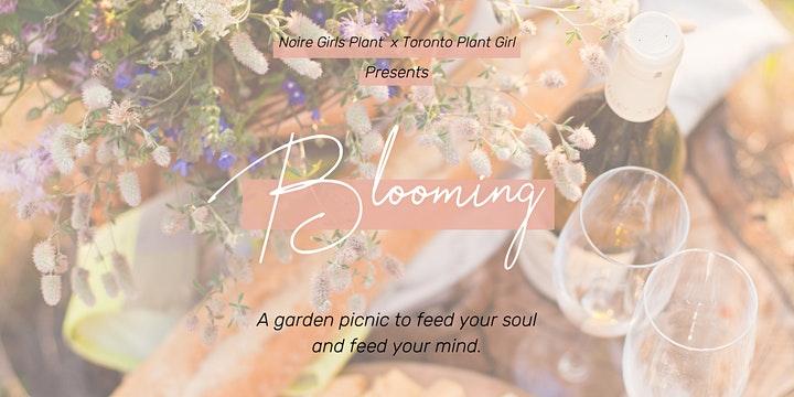 Blooming picnic