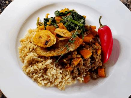 (Plan)tain Workshop Meal